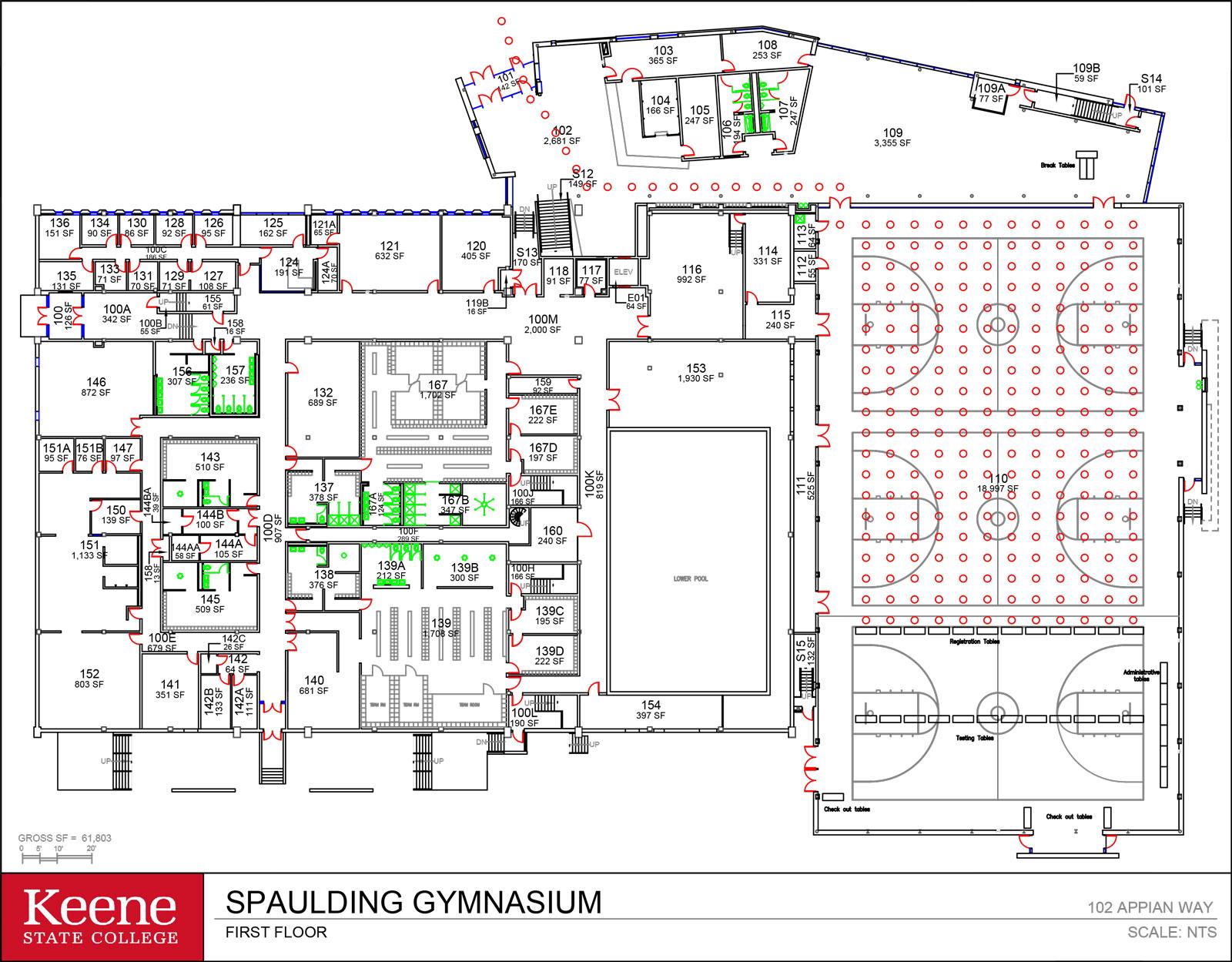 Recreational Center Schematic