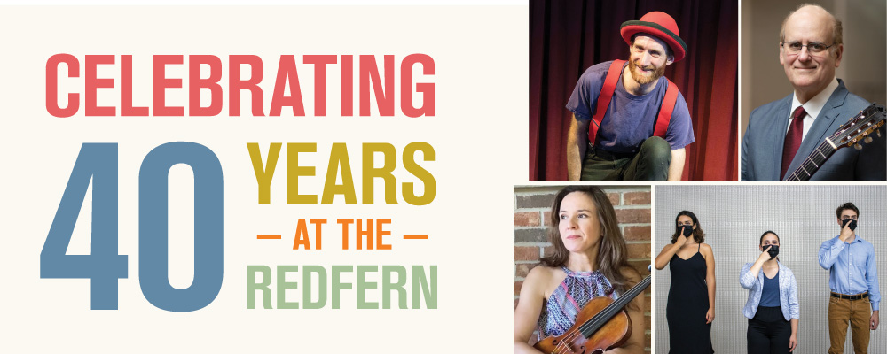 Celebrating 40 years at the Redfern